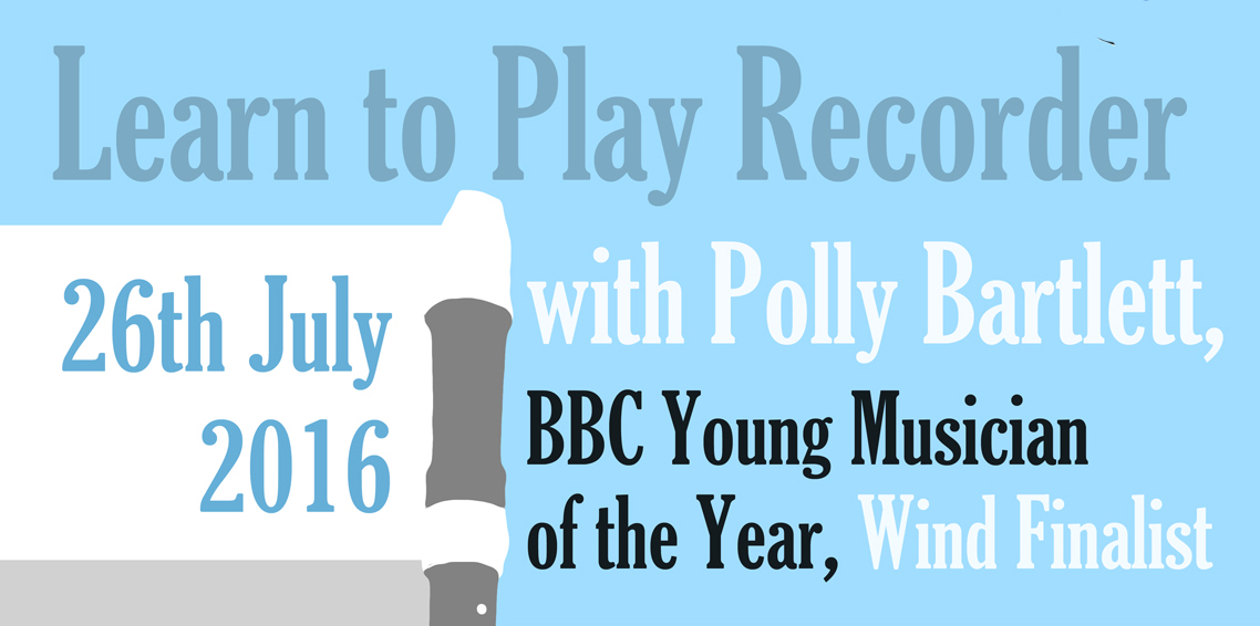 3624Recorder Masterclass with BBC Young Musician of the Year Finalist