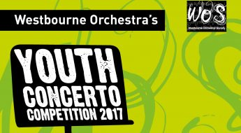 WOS Youth Concerto Competition poster banner