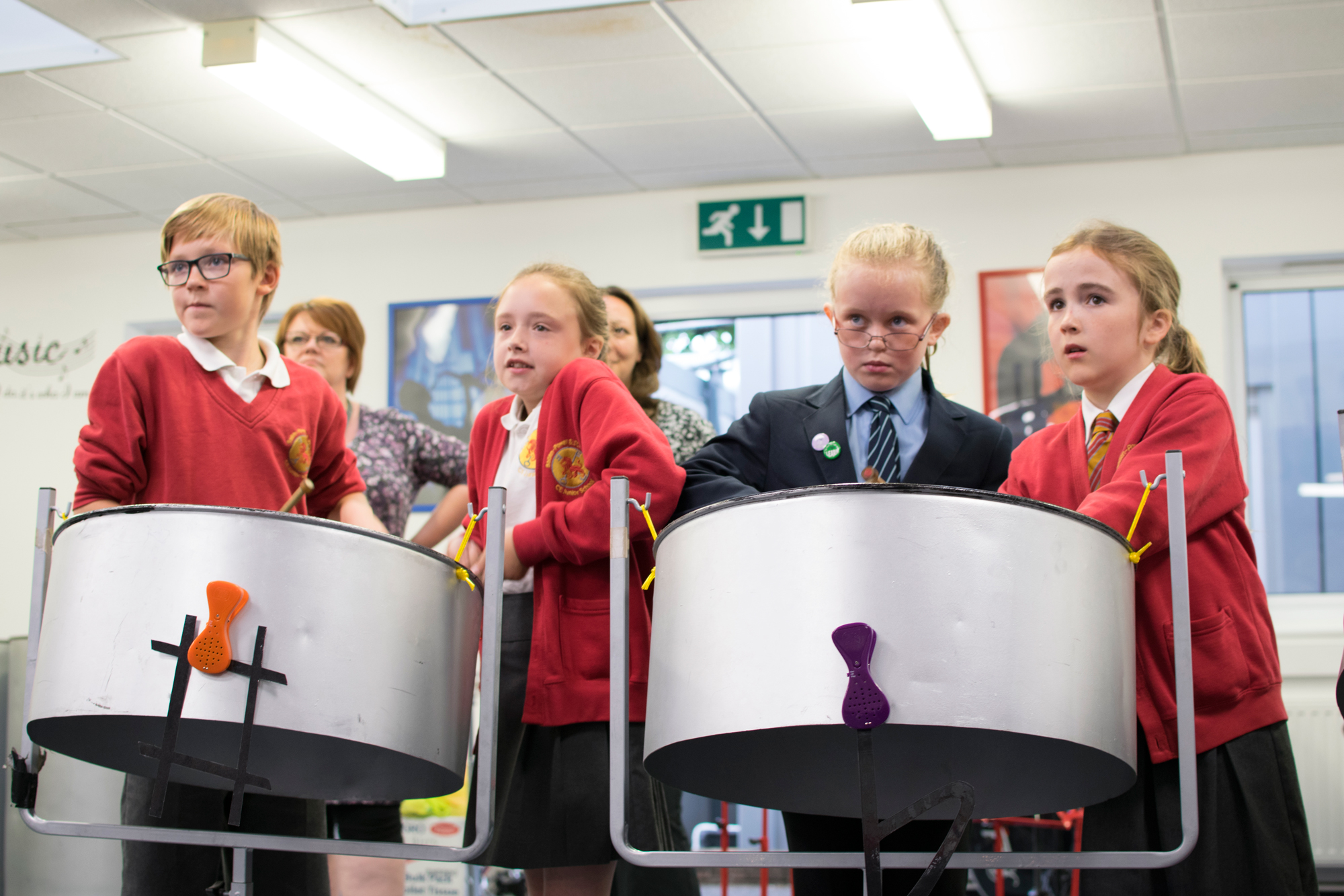 3666Steel Pan Workshop for Transition Day