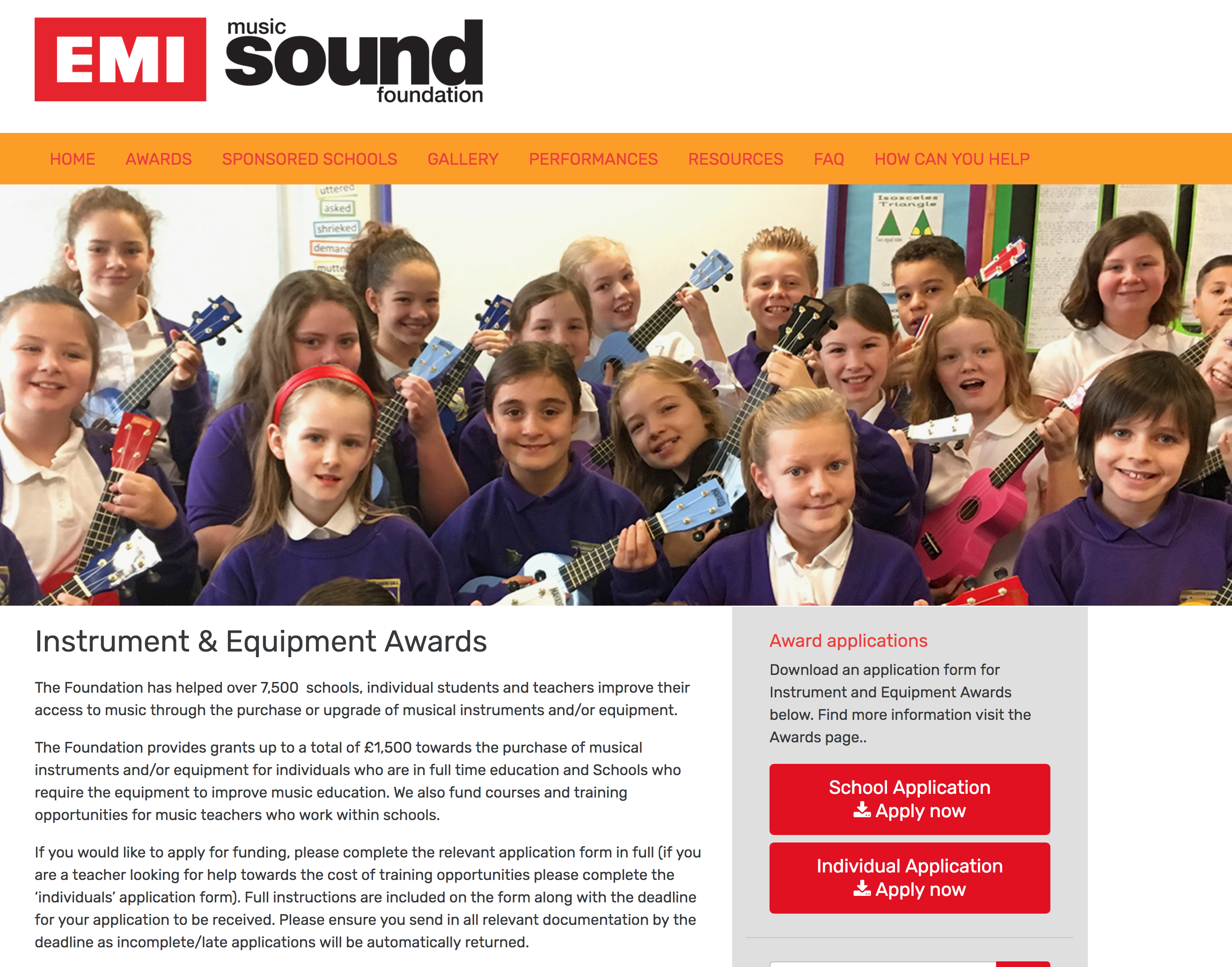 5253Instrument & Equipment Awards