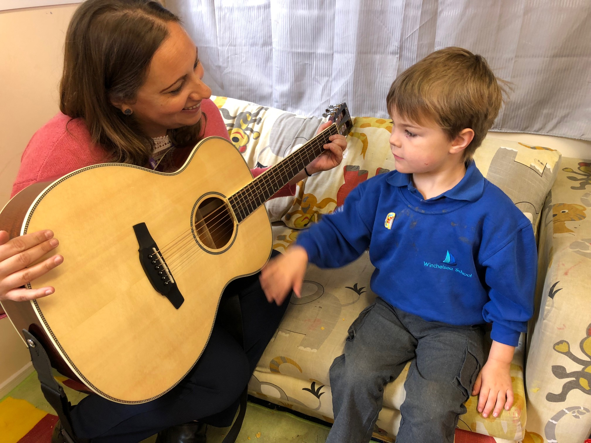 5512Life-changing music therapy to children with disabilities in Poole